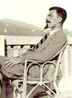 photo of Basil Bunting, Rapallo, Italy, 1930s