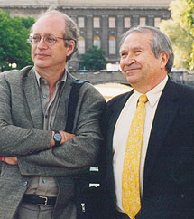 Photo of Homero Aridjis, Berlin 2001