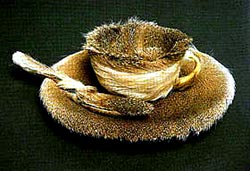 Object  Luncheon in Fur      1936  was in fact a fur-lined teacup  ItObject Luncheon In Fur