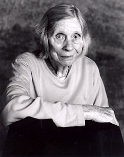 Photo of Barbara Guesat by Judy Dater 2004