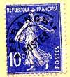 image of French postage stamp