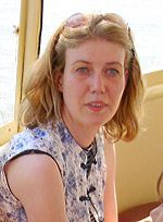 Karlien van den Beukel, Rotterdam, 2005, photo by John Tranter